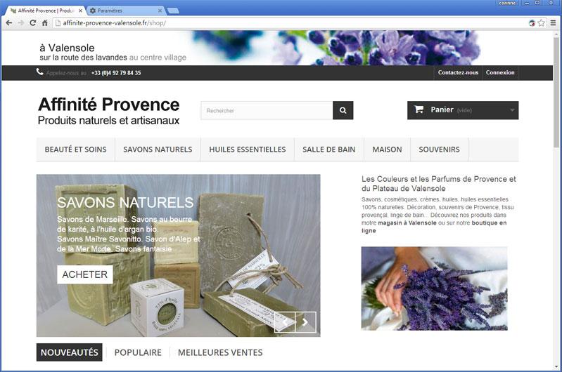 Affinité Provence
