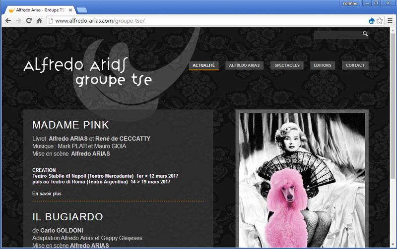 Alfredo Arias - Groupe Tse
