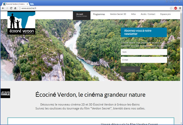 Ecociné Verdon