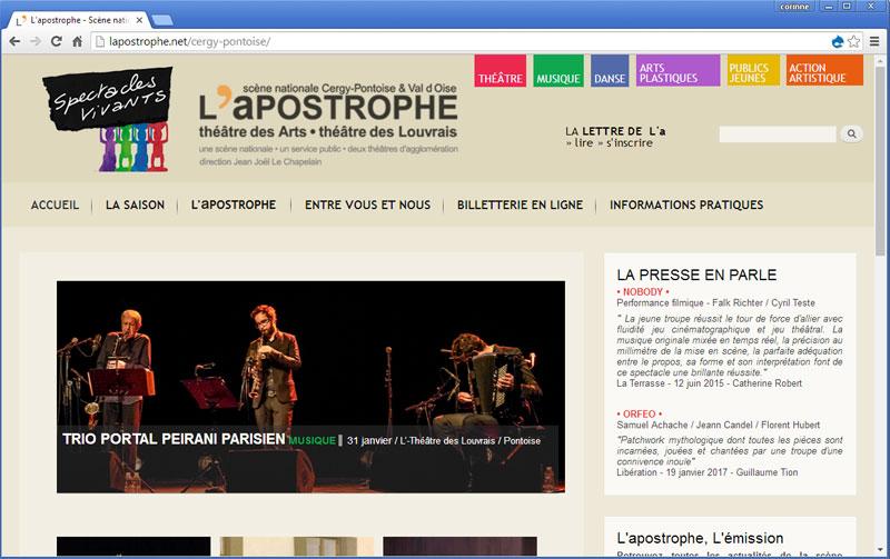 L'apostrophe - Scène nationale de Cergy-Pontoise