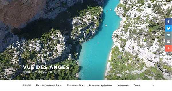 Vue des anges -v photos et vidéos par drone