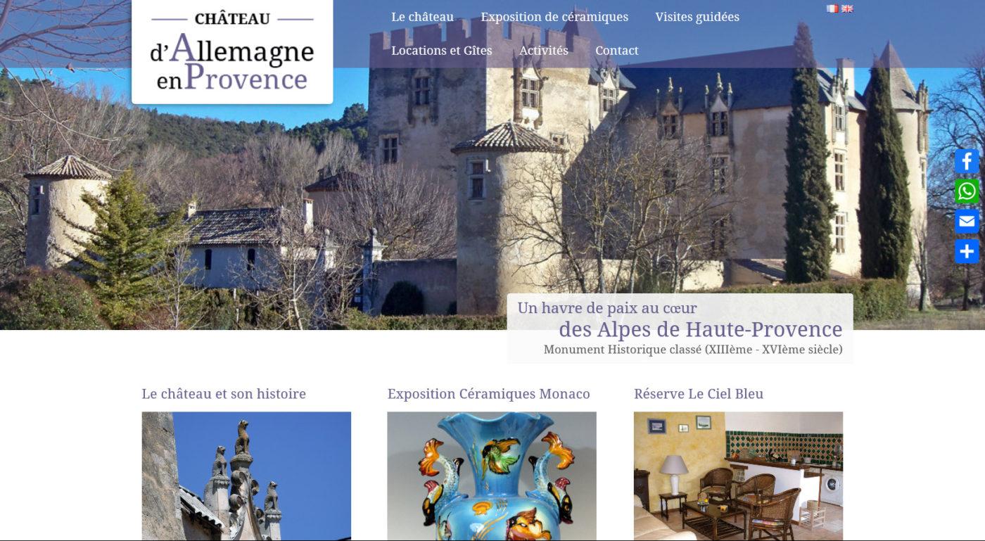 Château d'Allemagne-en-Provence - chateaudallemagneprovence.com
