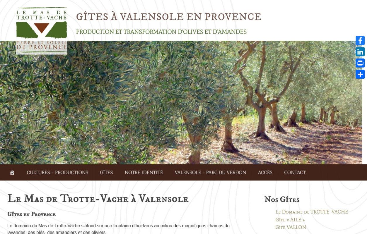 Mas de Trotte-Vache - plateau-valensole.fr