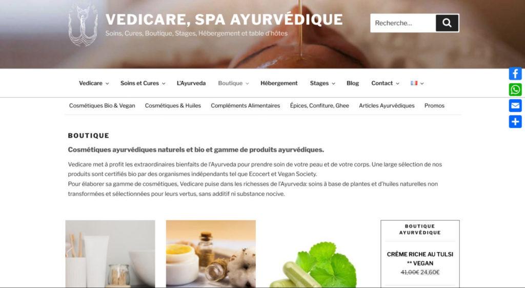 Vedicare, spa ayurvédique - ayurvedique.com